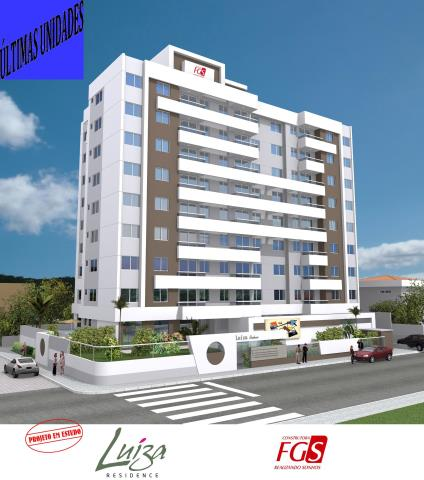 Apartamento - Código 241 a Venda no bairro Barreiros na cidade de São José - Condomínio LUIZA RESIDENCE