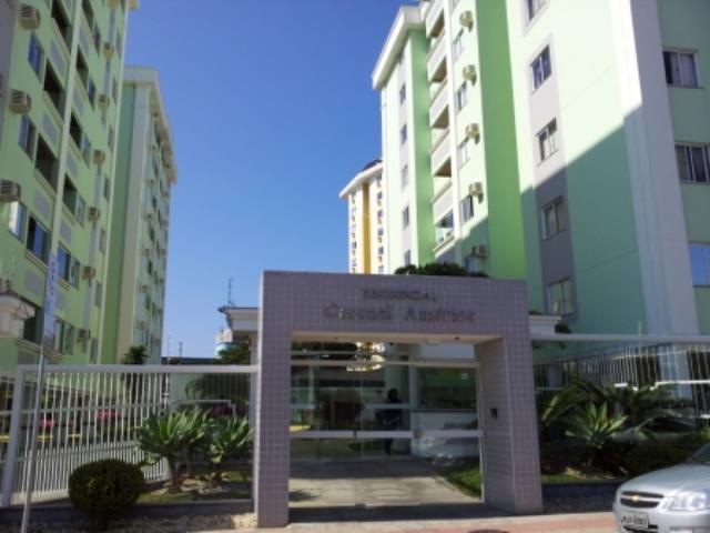 Apartamento - Código 373 a Venda no bairro Barreiros na cidade de São José - Condomínio CORONEL AMERICO