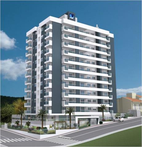 Apartamento - Código 460 a Venda no bairro Barreiros na cidade de São José - Condomínio VIVENDAS DO ATLANTICO