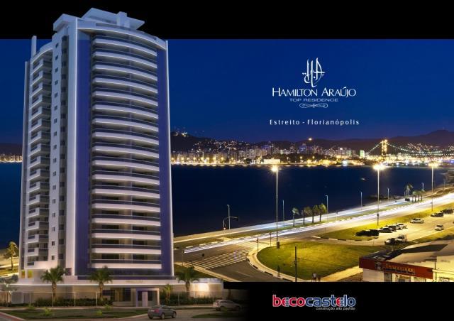 Apartamento - Código 22 a Venda no bairro Estreito na cidade de Florianópolis - Condomínio HAMILTON ARAÚJO TOP RESIDENCE