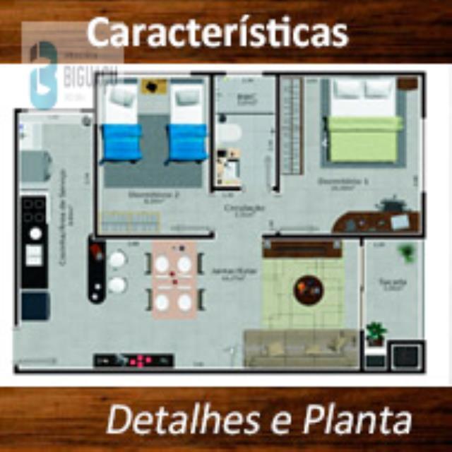 Apartamento-Código-562-a-Venda--no-bairro-Fundos-na-cidade-de-Biguaçu