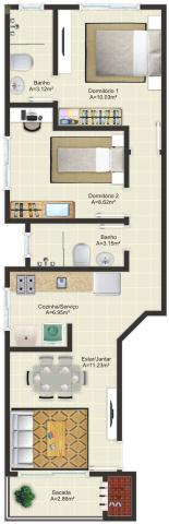 Imagem 2 - Apartamento, Palhoça