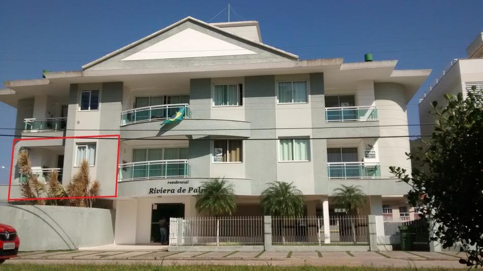 Apartamento - Código 29 para Temporada  no bairro Palmas na cidade de Governador Celso Ramos