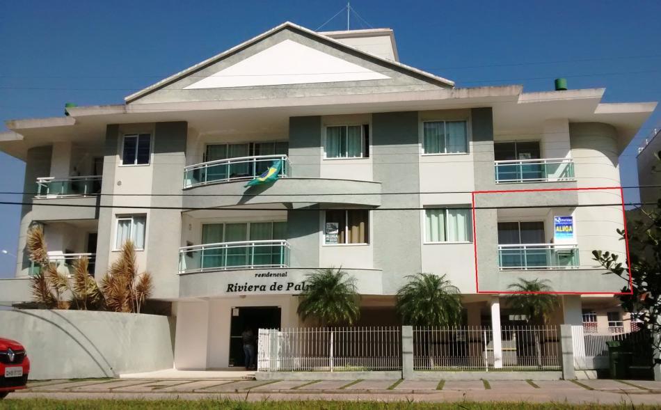 Apartamento - Código 293 para Temporada  no bairro Palmas na cidade de Governador Celso Ramos